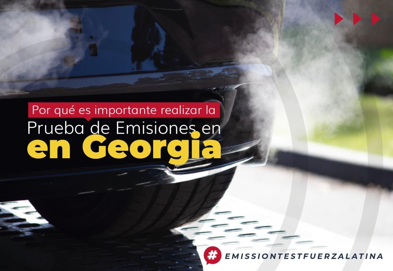 importancia de realizar una prueba de emisiones en georgia